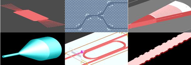フォトニックとファイバの統合されたコンポーネントは様々な形状をとることができる